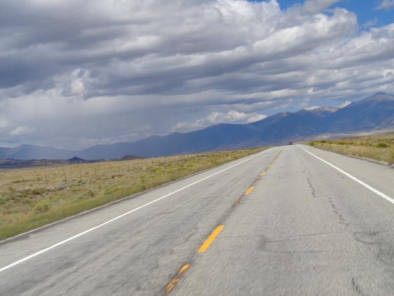 Driving towards Salida, CO.
